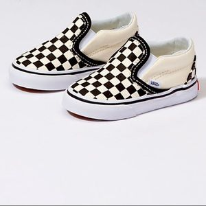 VANS- Toddler Checkerboard Slip-On